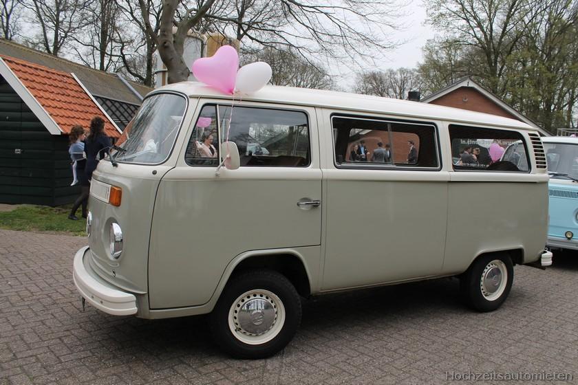 Grijs VW busje huren