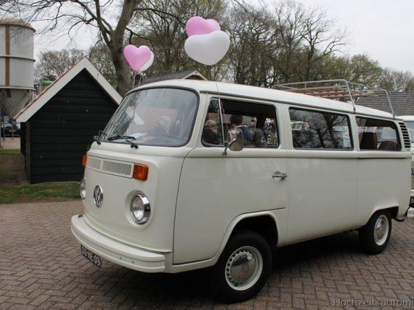 witte VW bus huren