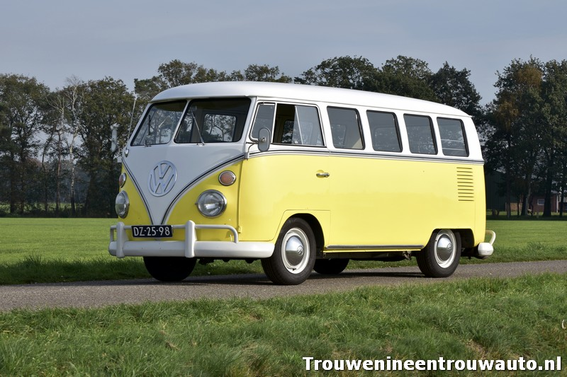 dagje toeren met het Volkswagenbusje