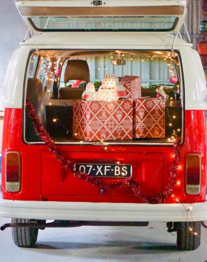 kerstpakketten bezorgen met Kerstmis